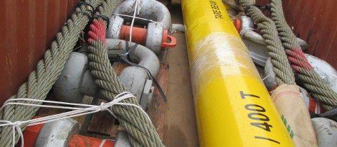 palonnier manille élingue cable offshore